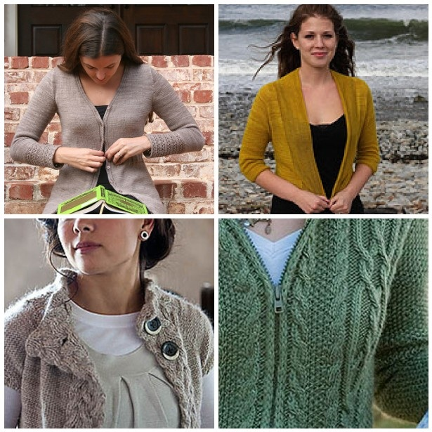 Cardigan Knit A Long Fashion Yarn Style