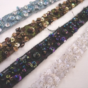 Beaded ribbon