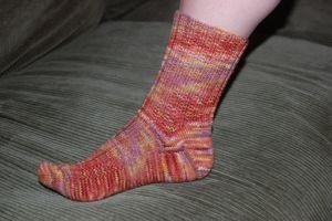 Unpattern socks
