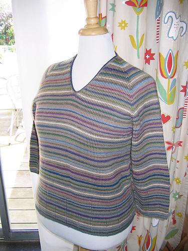 Unpattern top down sweater