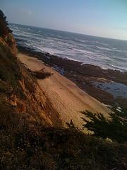 Ocean from cliff