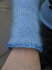 Sleeve edging