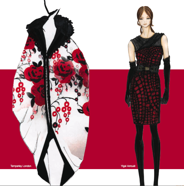 Panetone black & red