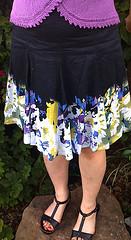 Matching skirt