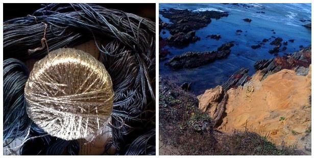 Mosaic- ocean:yarn