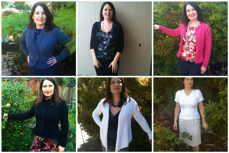 Mosaic of work sweaters