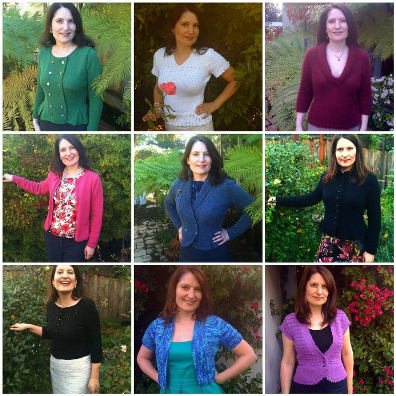 Mosaic of 2010 sweaters