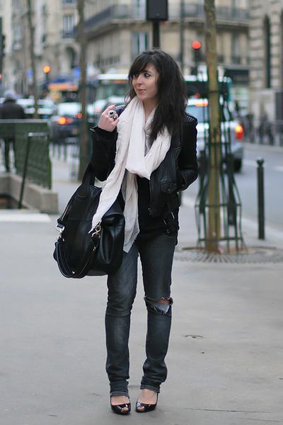 Paris street scarf 1