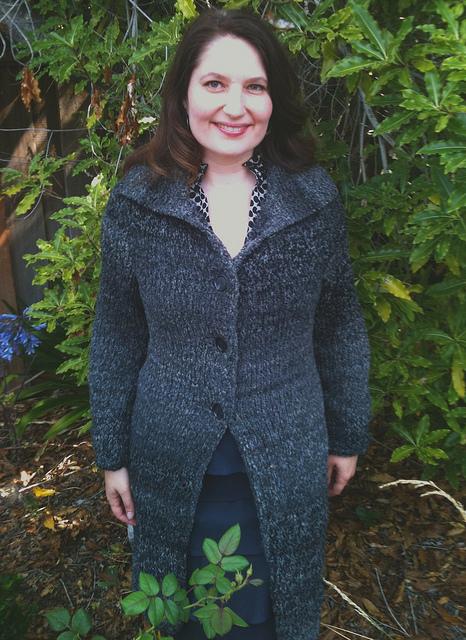 Lana Grossa coat 1