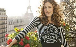 Carrie Bradshaw in Paris