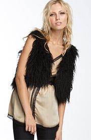 Kensie faux fur vest 1