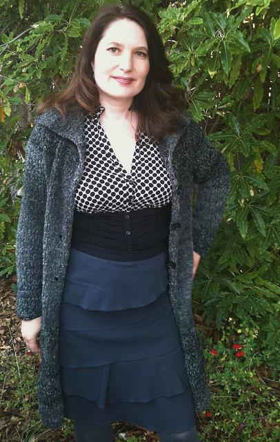 Lana Grossa coat open