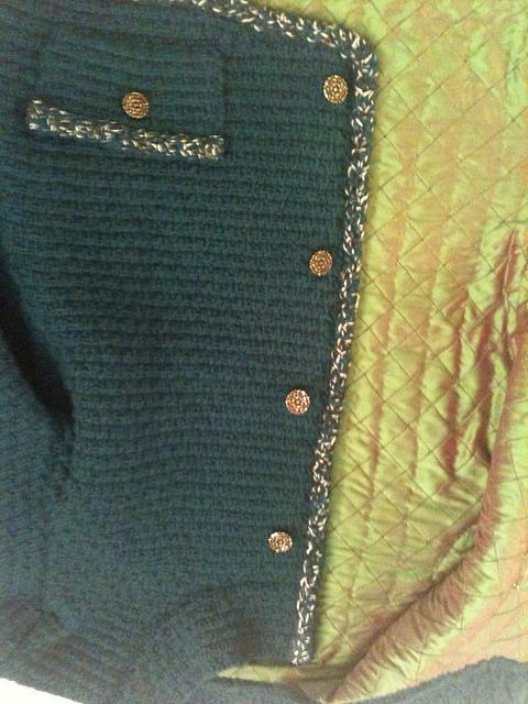 Emerald jacket buttons