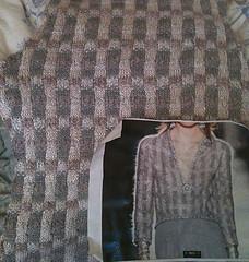 Closeup of back piece w:Chanel photo