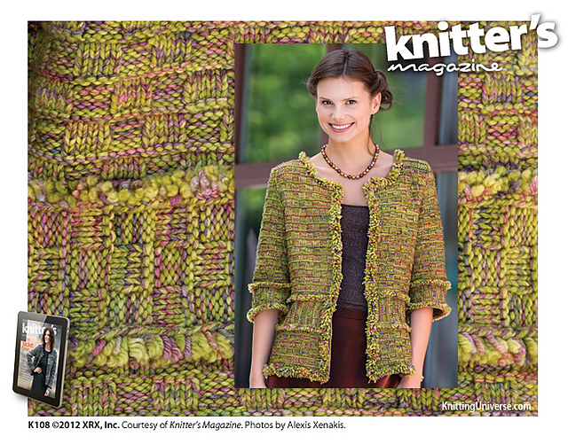 Knitter's Magazine jacket
