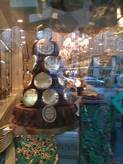 Gold Chocolate Macaron tree