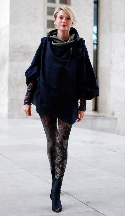Elle Paris street fashion