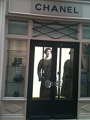 Chanel boutique Paris