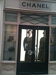Chanel boutique Paris