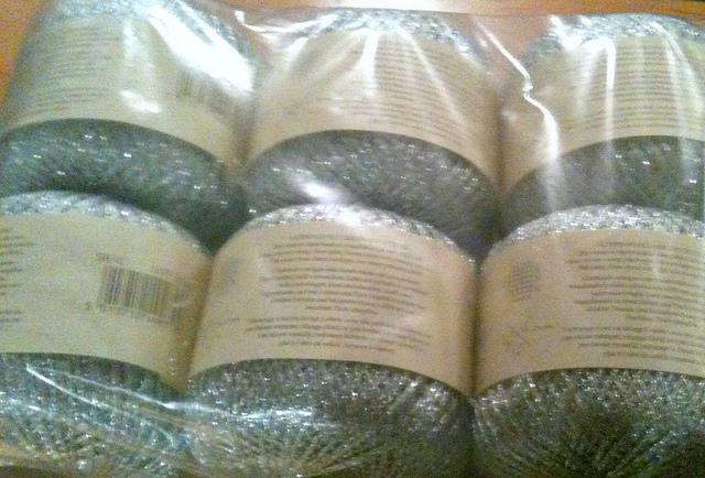 Shimmer yarn