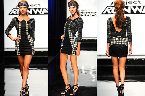 Better Mondo Houndstooth dress