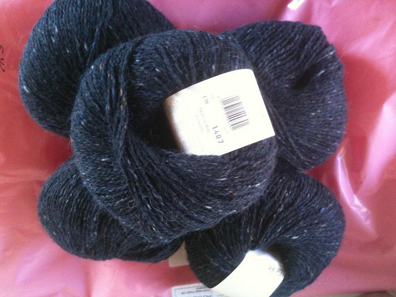 Felted tweed seafarer