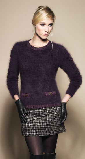 The Charm Pull, A Chanel-inspired Pullover - Fashion  Yarn Style 7d72bbf43ce