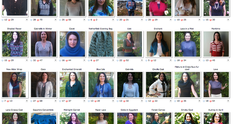 100 projects on ravelry