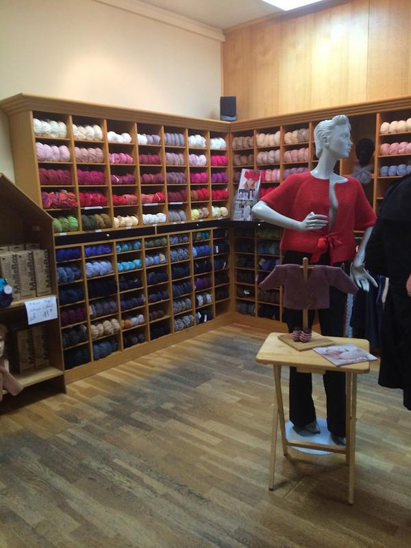 Inside Anny Blatt boutique