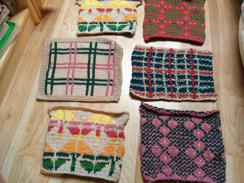 6 Tali blanket squares