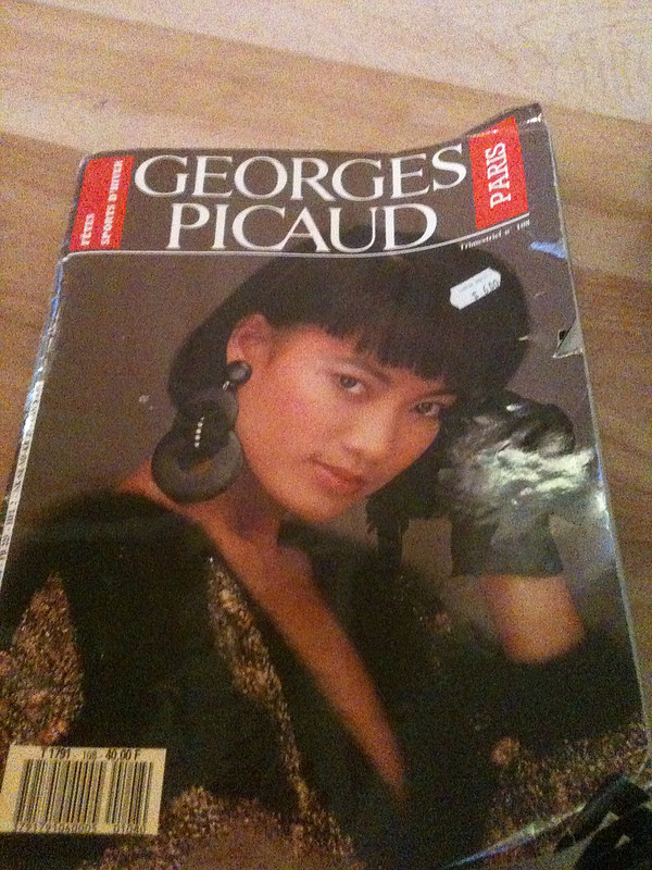 Old Paris 80s mag cover