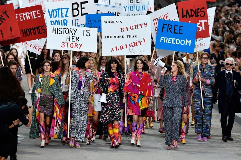 Chanel 2015 RWT S S picketing
