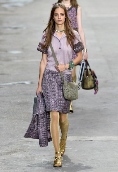 Chanel-RTW Spring-Summer-Purple Polo 2015