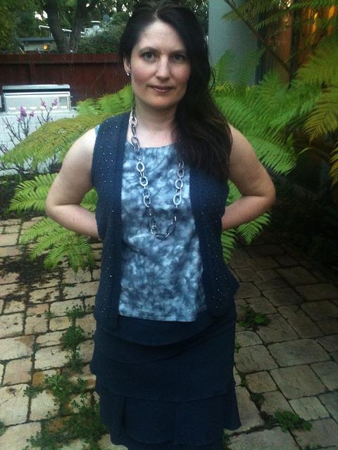Leah beaded vest