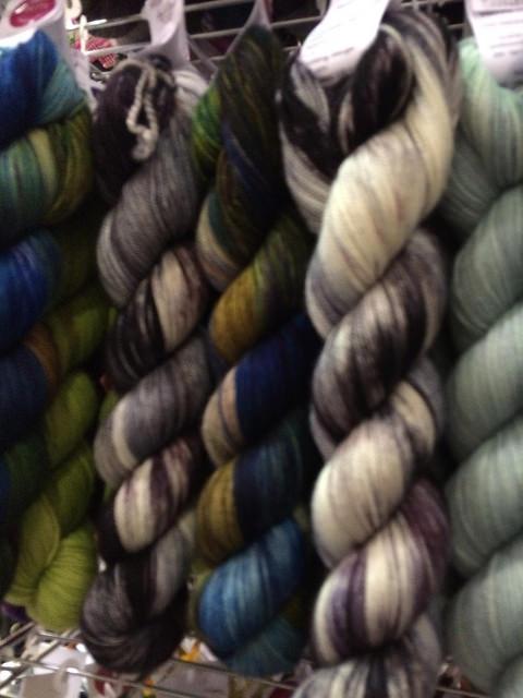 Miss Bab's Handdyed yarns
