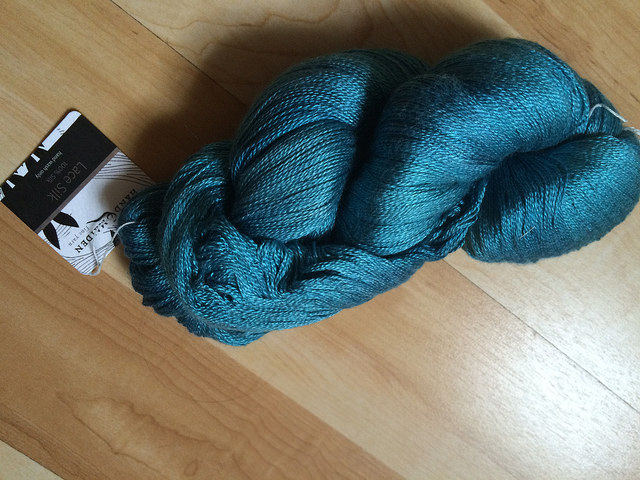 My skein of Handmaiden silken lace