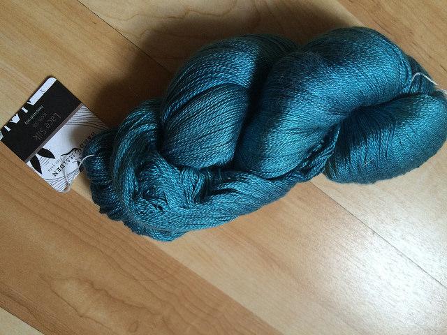 My skein of Handmaiden silken lace