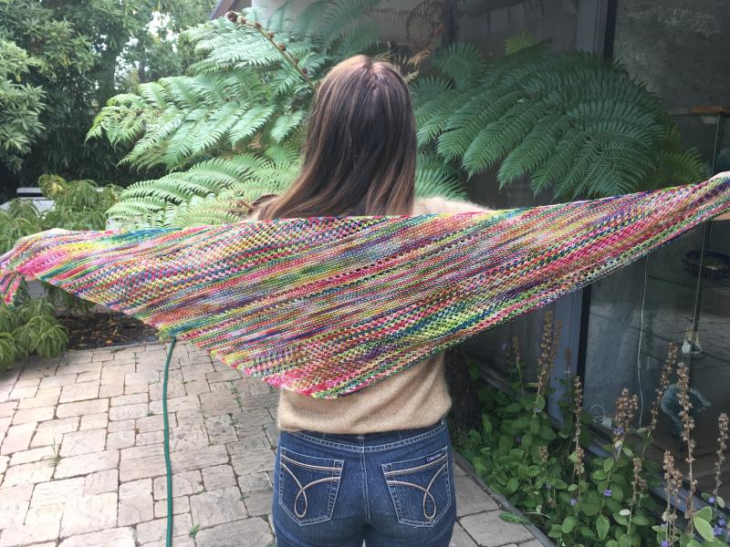 Spread shawl