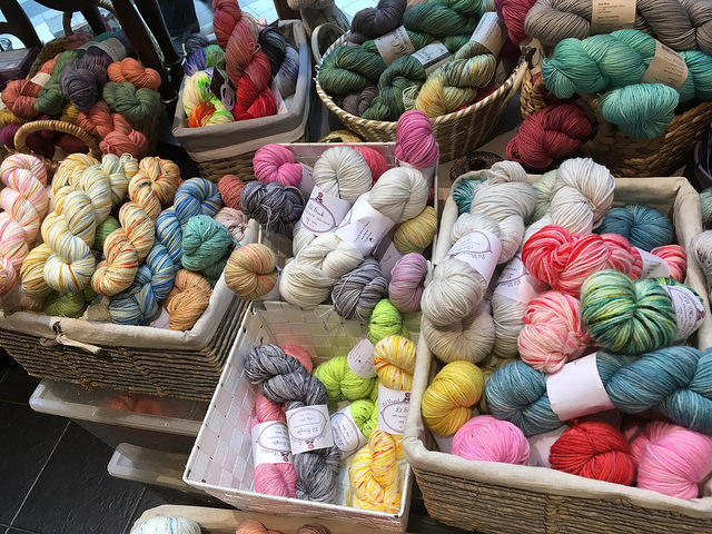 Hand-dyed offerings