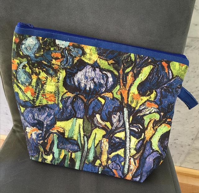 Van Gogh Iris Bag