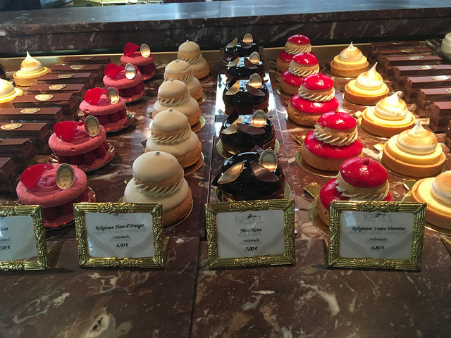 Laduree pastries row 2
