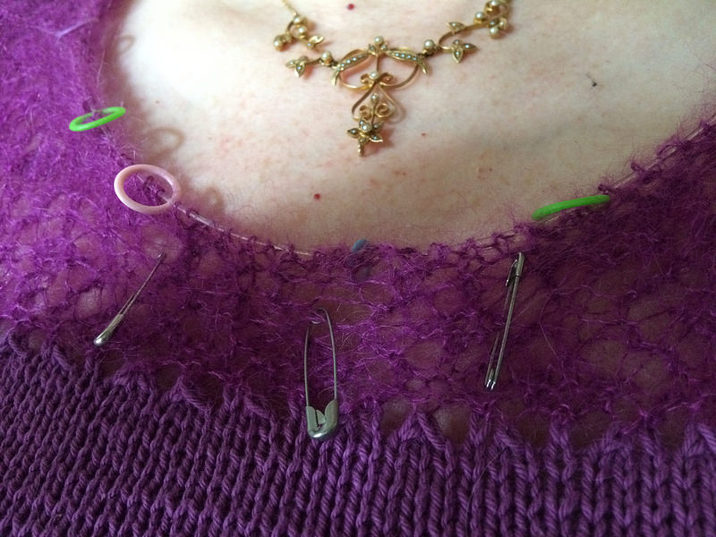 Silla lace holes closeup