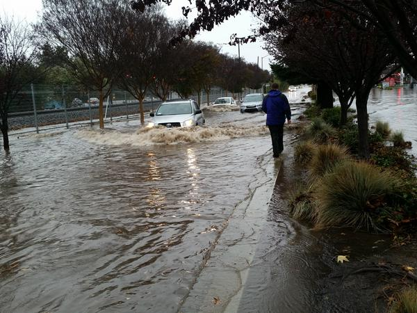 Sunnyvale flood photo