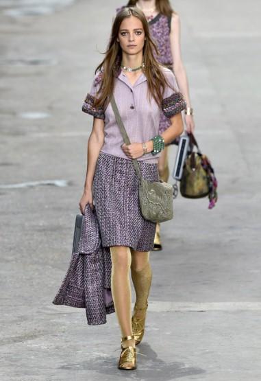 Chanel Antibes model skirt