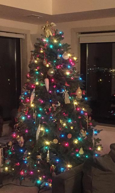 Dads xmas tree