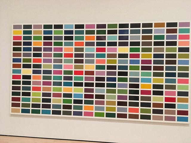 Modern color squares