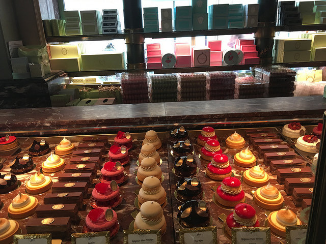 Laduree Pastries next row