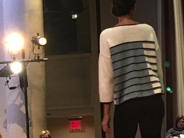 Rowan preview stripe handknit cotton back