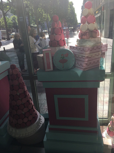 Laduree display