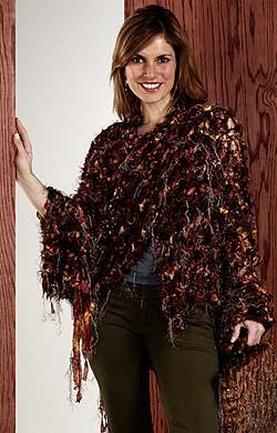 Trendsetter tapestry shawl
